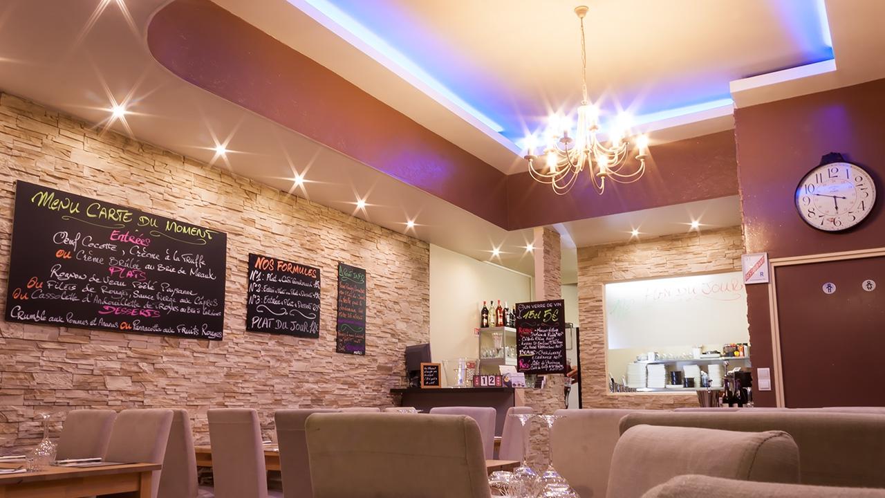 Salle de restaurant Osélysé esprit « Bistrot »