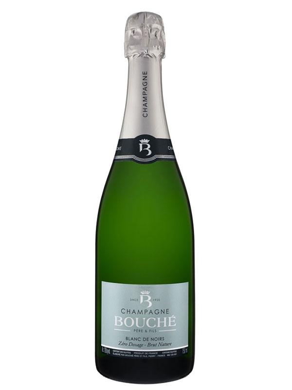 Champagne BOUCHÉ Père & Fils – Blanc de Noirs – Brut Nature 75CL