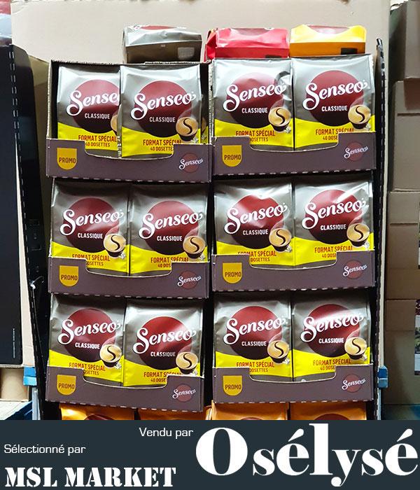 SENSEO - Lot de 5 Sachets X 40 Dosettes Café CLASSIQUE 277G