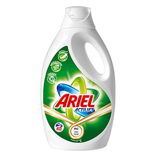 ARIEL – ACTILIFT Lessive liquide - Lot de 4 Bidons 2,8L 40 Doses