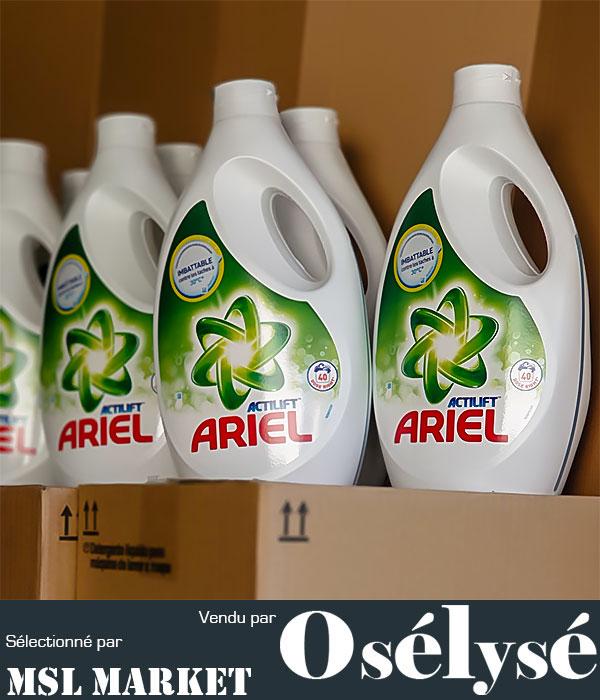 ARIEL – ACTILIFT 40 Doses CARTON de 4 X 2,8L (soit 160 lavages)