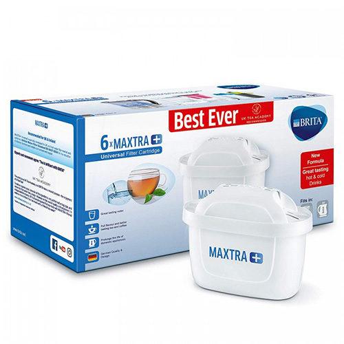 BRITA MAXTRA+ Pack de 6 Cartouches Filtrantes pour Carafes