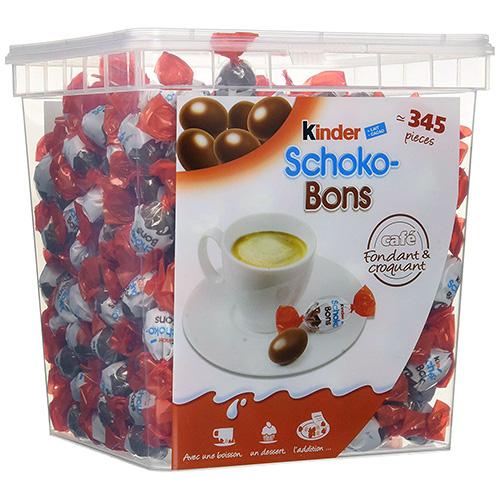 KINDER Schoko-Bons vrac boîte de 345 pièces 2kg