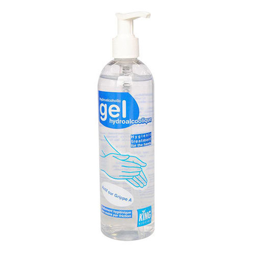 Gel hydroalcoolique - Lot de 5x 400ml