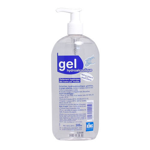 Gel hydroalcoolique - Lot de 5x 500ml
