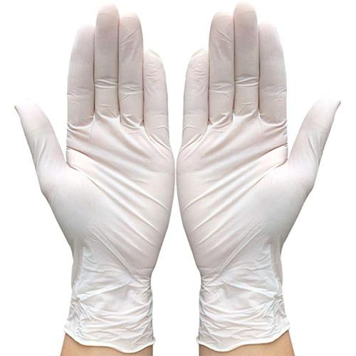 Gants LATEX poudré Blanc