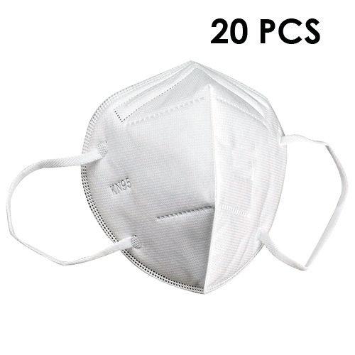 Lot de 20 Masques de Protection KN95