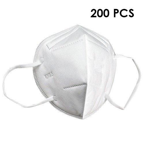 Lot de 200 Masques de Protection KN95 (équivalent FFP2)