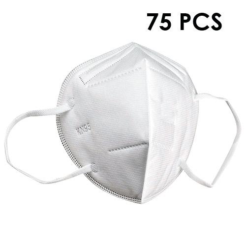 Lot de 75 Masques de Protection KN95