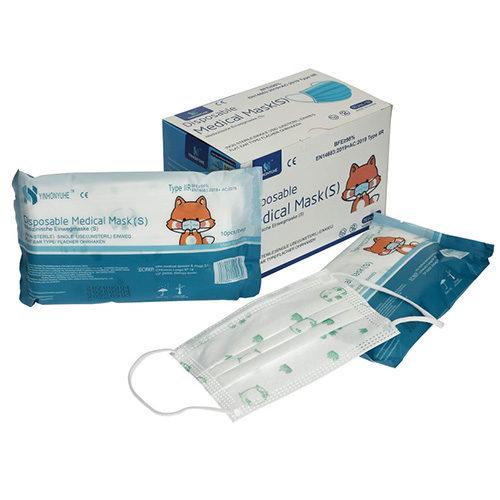 Masque ENFANT Norme EN14683 TYPE 2R – par 150