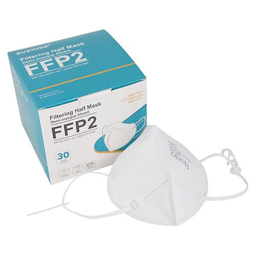 Masque FFP2 NR EVERISE WSX-FH-1 Certifié Norme CE 2163